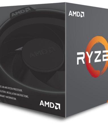 AMD RYZEN 5-2600X (3.6 Ghz) 6CORE SOCKET AM4