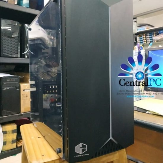 CUBE GAMING HUMBOLT - SIDE TEMPERED GLASS - SUDAH INCLUDE RGB STRIP