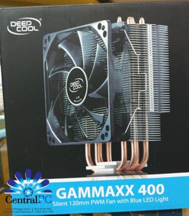 Deepcool Gammaxx 400 - Fan 12CM LED PROCESSORNYA BAKALAN DINGIN GUYS
