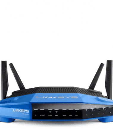 Linksys WRT1900ACS Dual-Band WiFi Router with Ultra-Fast 1.6 GHz CPU