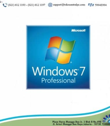 SOFTWARE WINDOWS 7 PRO 32 / 64 BIT